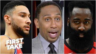 Stephen A. proposes the 76ers make a drastic trade for James Harden | First Take