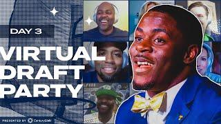 Darrell Taylor Joins Seahawks Virtual Draft Party | 2020 NFL Draft