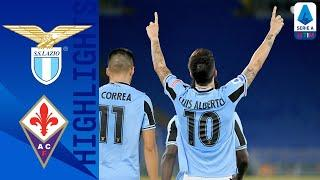 Lazio 2-1 Fiorentina | Lazio keeps tittle hopes alive with late victory | Serie A TIM