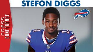 Stefon Diggs Excited To Play For Bills | Buffalo Bills