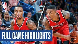 Damian Lillard Comes Up CLUTCH, Pours in 40 PTS for the Trail Blazers!