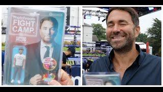 'OF COURSE I WONT BE A P**** ABOUT IT' - EDDIE HEARN RECEIVES HIS  OWN 'EDDIE HEARN' ACTION FIGURE