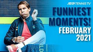 Funny Tennis Moments & Fails : February 2021