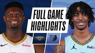 PELICANS at GRIZZLIES | FULL GAME HIGHLIGHTS | February 16, 2021