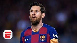 Lionel Messi hits back at Barcelona's board following pay cut   The Gab and Juls show