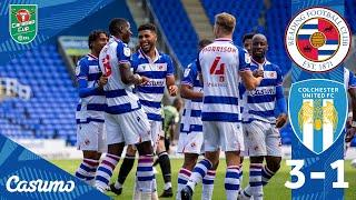 READING 3-1 COLCHESTER | Perfect hat-trick by Lucas João sends us through to Round Two!