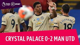 Crystal Palace v Manchester United (0-2) | Premier League Highlights