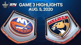 NHL Highlights | Islanders vs. Panthers, Game 3 – Aug. 5, 2020