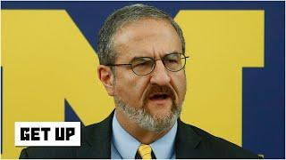 Michigan president Mark Schlissel has doubts about college football in the fall | Get Up