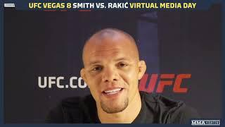 UFC Vegas 8: Anthony Smith Calls Jon Jones' Decision To Vacate Title 'Noble' - MMA Fighting