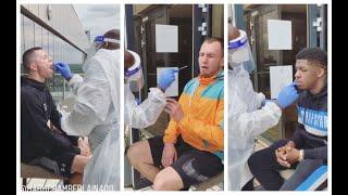 BOXERS GAGGING, GO THROUGH GRUESOME COVID TESTING AHEAD OF FRANK WARREN'S RETURN TO BOXING