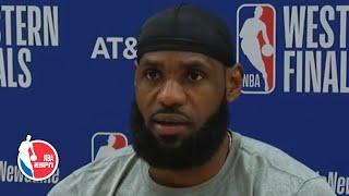 LeBron James talks Lakers' win, opens up about Breonna Taylor grand jury ruling | 2020 NBA Playoffs