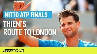 Thiem's Route To London | Nitto ATP Finals | ATP