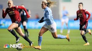 Women's Super League: Manchester City v. Manchester United | EXTENDED HIGHLIGHTS | NBC Sports