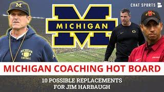 Top 5 Candidates To Replace Jim Harbuagh As Michigan Football Head Coach (If He's Fired)