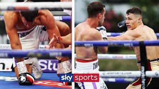 HUGE KO! | Chris Billam-Smith wipes out Nathan Thorley in the 2nd round