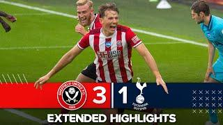 Extended Premier League highlights |  Sheffield United 3-1 Tottenham Hotspur | Blades down Spurs