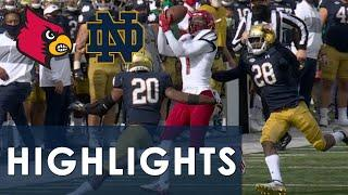 Louisville vs. Notre Dame | EXTENDED HIGHLIGHTS | 10/17/20 | NBC Sports