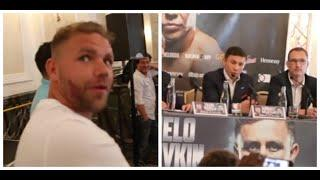 'I S*** MYSELF' - WHEN BILLY JOE SAUNDERS STUCK IT ON CANELO & GGG WHO RESPONDS 'YOU TALK TOO MUCH'