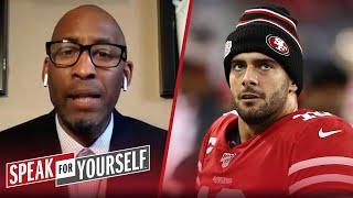 Jimmy G must ignore Shanahan's praise of Trey Lance and perform — Bucky | NFL | SPEAK FOR YOURSELF