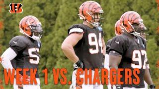 Getting Ready For Week 1 vs Chargers | Bengals Weekly