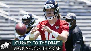 Inside the Draft for the AFC & NFC South Divisions | Journey to the Draft