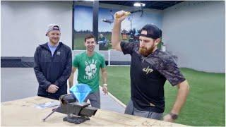 Crush a Diamond with a Hammer?   Dude Perfect