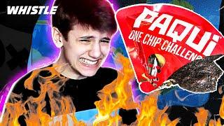 16-Year-Old Sceptic NO BUILD Fortnite Challenge  | Win Or Eat The World's HOTTEST Chip!