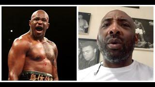 'IF YOU RUN DILLIAN WHYTE DOWN, HE WILL COME LOOKING FOR YOU & FRONT YOU OUT!' -WARNS JOHNNY NELSON