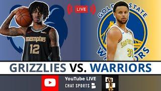 Warriors vs Grizzlies NBA Play-In Live Streaming Scoreboard, Highlights, Play-By-Play & Live Stats