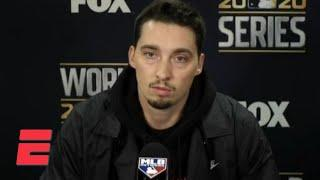 Rays' Blake Snell discusses being pulled from Game 6 by Kevin Cash | 2020 World Series