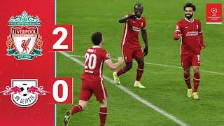 Highlights: Liverpool 2-0 RB Leipzig   Salah and Mane on target in Budapest