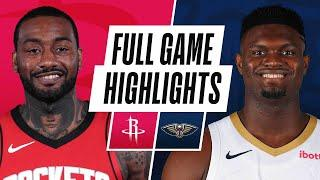 ROCKETS at PELICANS | FULL GAME HIGHLIGHTS | February 9, 2021
