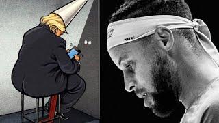 Steph Curry, Draymond Green & Klay Thompson DEMOLISH Trump, Rioters At DC Protest