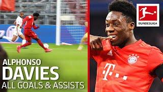 Alphonso Davies  - All Goals and Assists 2019/20