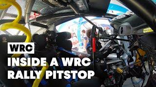 Be A WRC Rally Mechanic For 6 Minutes   WRC 2019