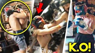 WАR! PACQUIAO JR 3RD BOXING FIGHT TURNS INTO A ВRАWL and ENDS with a КNOСКОUT!