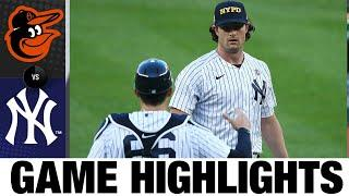 Gerrit Cole leads the Yankees to a 6-0 win | Orioles-Yankees Game 1 Highlights 9/11/20