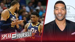 Jim Jackson on the growing tensions between Gobert and Donovan Mitchell | NBA | SPEAK FOR YOURSELF