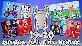 UCL KNOCKOUT STAGE HIGHLIGHTS 2019/2020 UEFA Champions League Best Games and Top Goals!