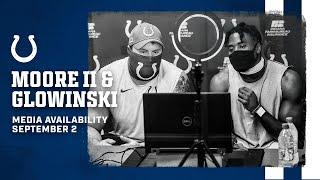Mark Glowinski And Kenny Moore II On Earning Spots On Colts Roster