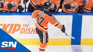 Connor McDavid Scores To Notch His First Career Playoff Hat-Trick