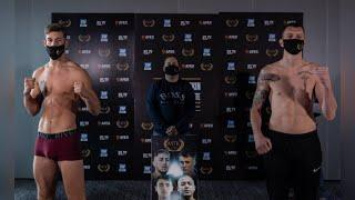 DEBUT TIME FOR THE 'IRISH DRAGO' - PAUL McCULLAGH v BEN THOMAS (FULL) WEIGH & HEAD-TO-HEAD
