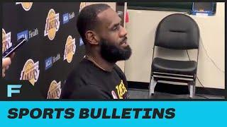 """LeBron James Laugh's About Losing President Trump As An NBA Viewer """"We Could Not Care Less"""""""