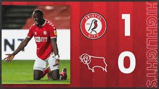 HIGHLIGHTS | Diédhiou bags winner for The Robins! | Bristol City 1-0 Derby County