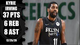Kyrie Irving leads Nets with 37 points vs. Celtics | 2020 NBA Highlights