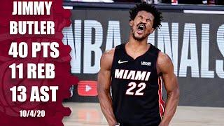 Jimmy Butler leads Heat with 40-point triple-double [GAME 3 HIGHLIGHTS] | 2020 NBA Finals