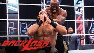 Bobby Lashley looks to overpower Drew McIntyre: WWE Backlash 2020 (WWE Network Exclusive)