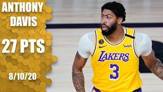 Anthony Davis scores 27 in Lakers' win over Nuggets | 2019-20 NBA Highlights