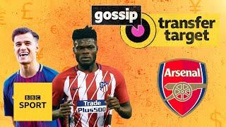 Can Arsenal seal deals for Partey, Coutinho & Aubameyang? | Transfer Target